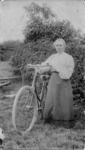 Grandma Hill and Bike!