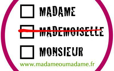 Mademoiselle, Non. Ms, Yes