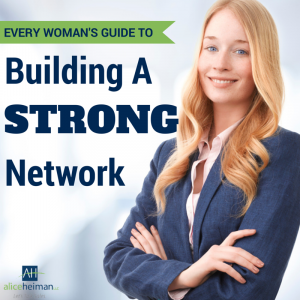 Every woman's guide to building a network