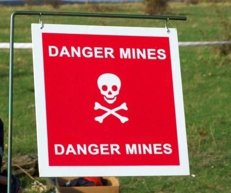 the mine field