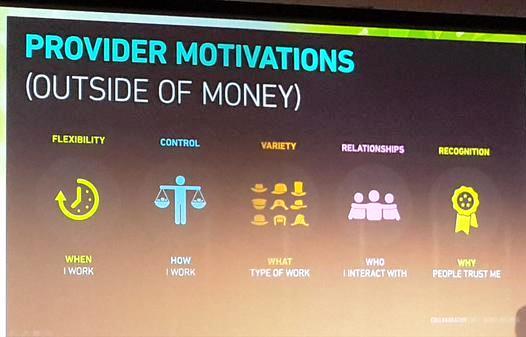 Provider motivations