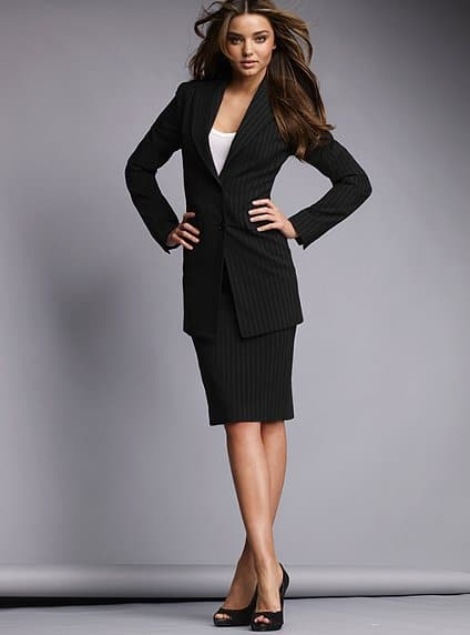 Pencil Skirt Suit The power of a perfect...