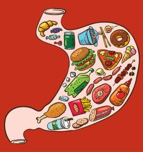 Avoid processed goods for better gut health