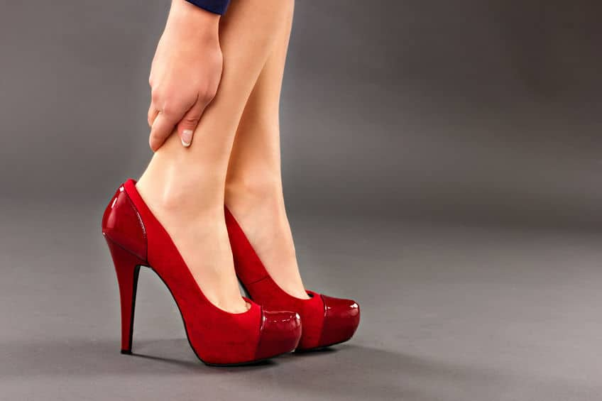 High heels should carry a health warning