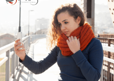 Women taking selfies – selfie harm or a powerful statement?