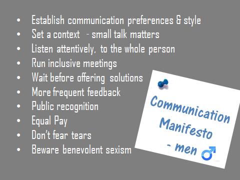 communication manifesto men