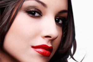 lipstick look