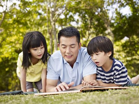 Men sharing childcare