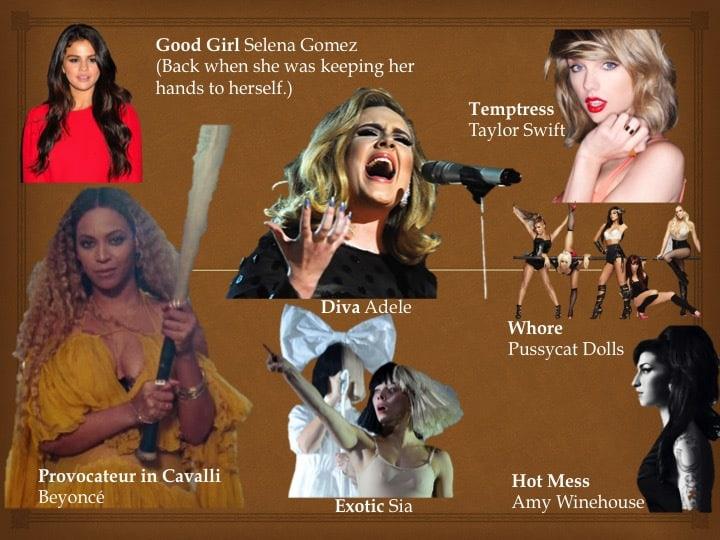 women rule the charts