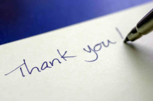 A little gratitude can go a long way