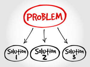 44941406 - problem solving aid mind map business concept