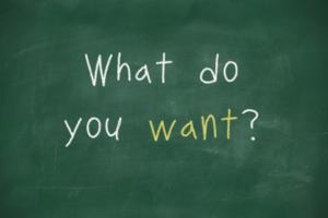 30216617 - what do you want handwritten on school blackboard
