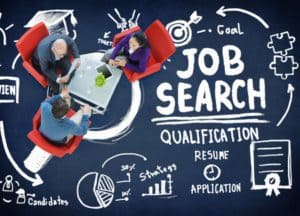 41912385 - job search qualification resume recruitment hiring application concept