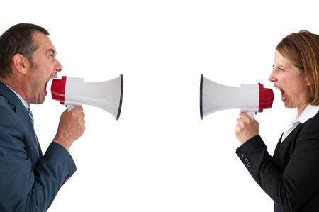 verbal conflict