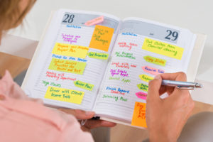 Use your planner