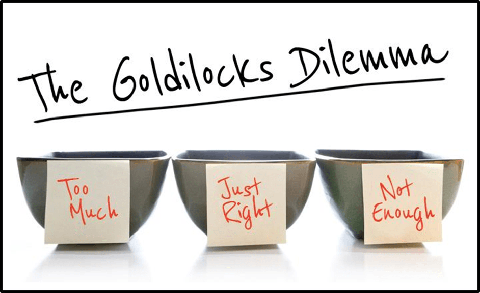 The Goldilocks Dilemma and Age Bias
