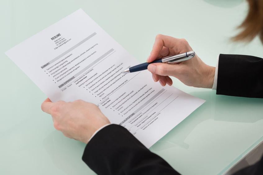 unformatted resume