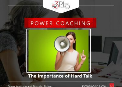The importance of Hard Talk