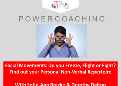 Facial Movements: Do you Freeze, Flight or Fight?