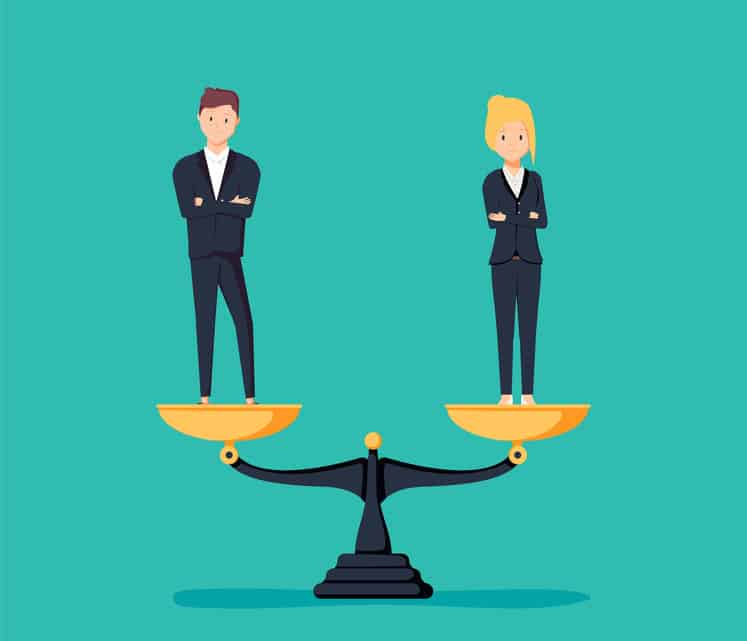 Gender pay gap and equal pay