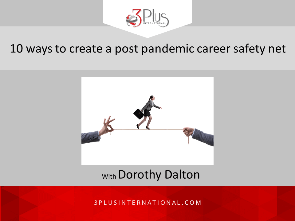 post pandemic career safety net