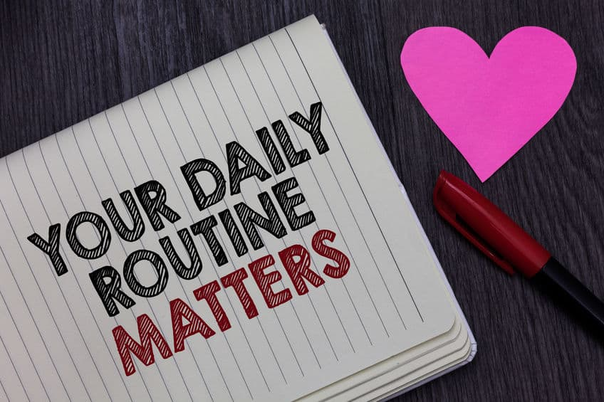 9 Daily habits to create boundaries during lockdown