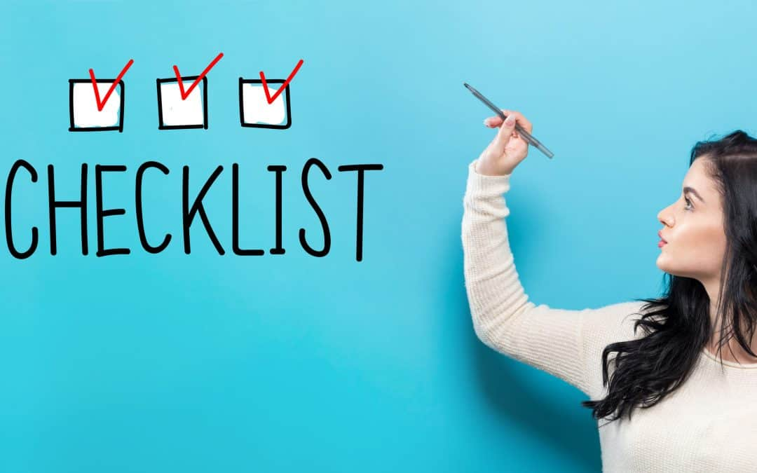 Your Job Search Checklist Updated for Coronavirus