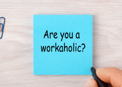 Message from a recovering workaholic